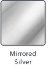 Mirrored Silver